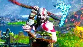 GOD OF WAR 4 - Fight Like Kratos Trailer (2018) PS4