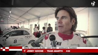 Trofeo Abarth 500 Selenia Italia – Intervista a Jimmy Ghione