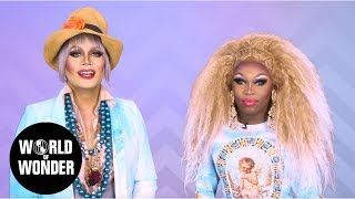 FASHION PHOTO RUVIEW: All Stars 4 Episode 2 with Raja and Asia O'Hara