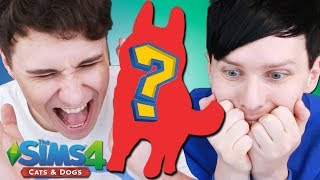 DIL GETS A DOG - Dan and Phil Play: Sims 4 #46