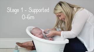 Shnuggle Baby Bath Video