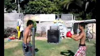 Hmoob kid bodyshot