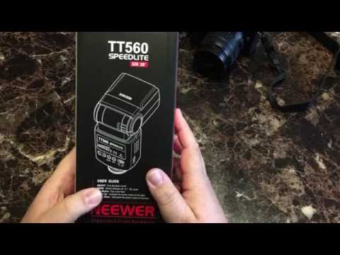 Neewer TT560 Flash In-depth Review