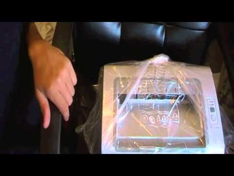 Samsung ML-2165W Wireless Laser Printer unboxing