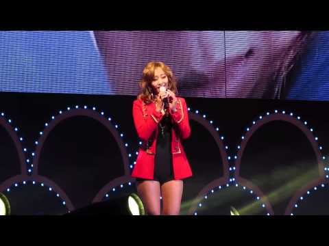 Crazy Of You(미치게만들어)-Hyolyn(씨스타 효린) Live @ Valentine's Day Kiss Concert