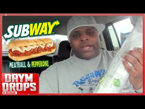 Subway - Meatball and Pepperoni Melt Review