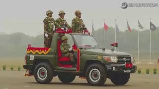 Bangladesh Army Victory Day National Parade   Hell March