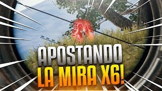 ¡QUIEN MATE PRIMERO SE QUEDA LA MIRA X6! PLAYERUNKNOWN'S BATTLEGROUNDS GAMEPLAY ESPAÑOL | Winghaven
