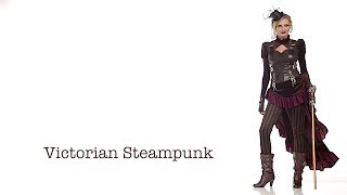 Victorian Steampunk Women's Costume (01573)