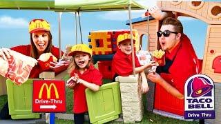 McDonalds Drive Thru Taco Bell vs McDonalds Parody & Compilation
