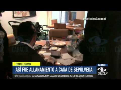 Así fue el allanamiento a la casa de Andrés Sepúlveda 12 de Mayo de 2014