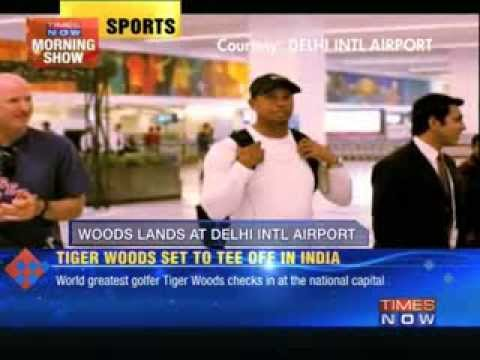 Tiger Woods set to tee off in India