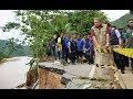 Banjir Pacitan - SBY Meninjau Bencana di Arjosari, 02-12-2017