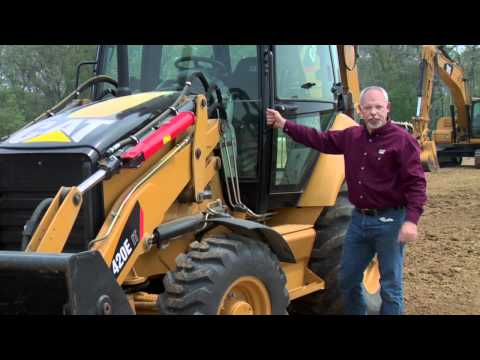 Cat® Backhoe Loader Daily Walkaround Inspection