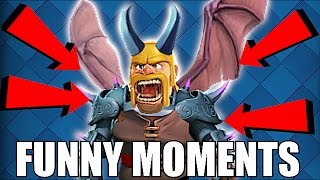 TRY NOT TO LAUGH 😀 HARD VERSION, TROLLS & FAILS🔸Clash of clans & clash Royale