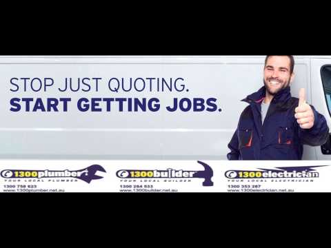 1300Plumber, 1300Builder and 1300Electrician Triple M Radio Ad
