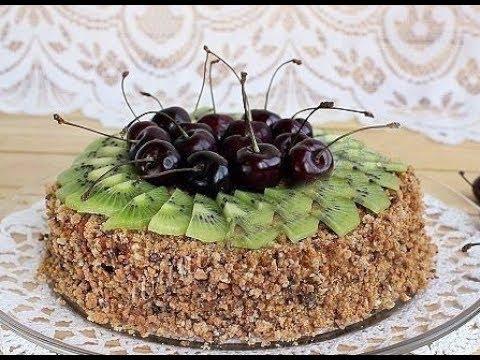 Торт из пряников и сметаны // без выпечки