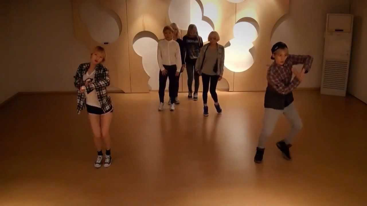 Trouble Maker 'Now' mirrored Dance Practice