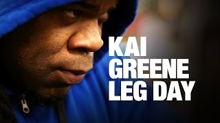 Kai Greene's Leg Workout 5 weeks Out 2016 Arnold Classic