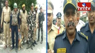 పాతబస్తీలో పోలీసుల తనిఖీలు | Hyderabad | hmtv