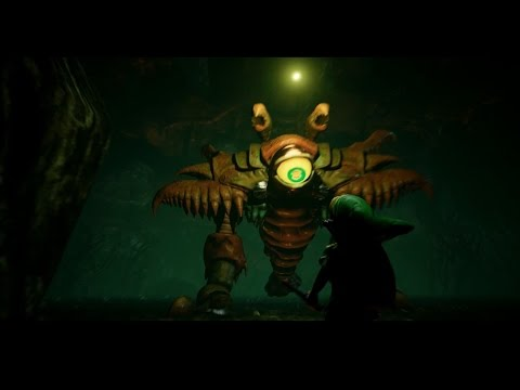 Unreal Engine 4  Zelda Ocarina of Time - Queen Gohma Boss Battle + CGI Breakdown