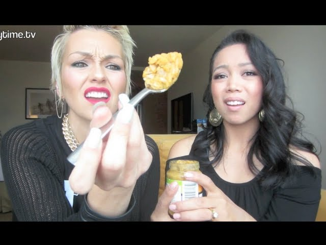 BABY FOOD CHALLENGE with KANDEE!