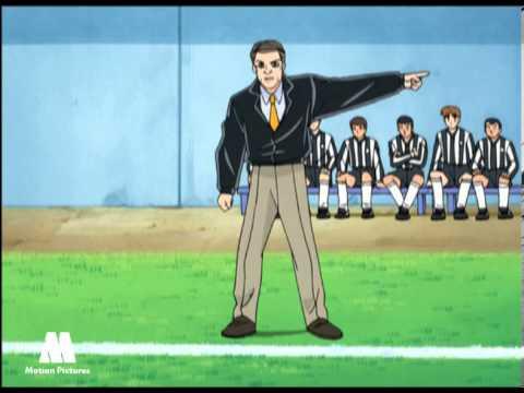 Dream Team #08, Coge el último pase, dibujos animados futbol