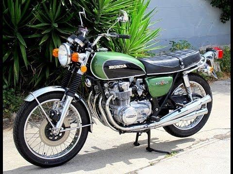 Honda CB500/550 History 1971-1978