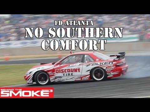 Formula Drift 2013 Road Atlanta - No Southern Comfort - BTS3 Daijiro Y