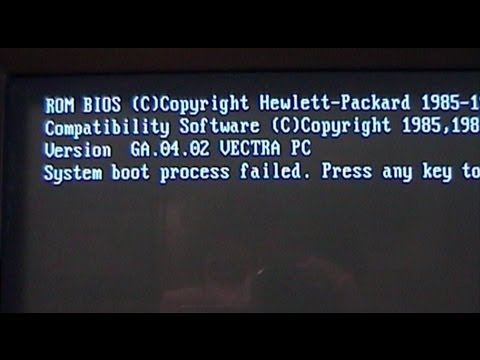Recycling Rescue: Hewlett Packard Vectra VL2 486SX-33 PC