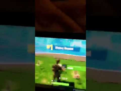 Autistic boy powers through and wins fortnite game