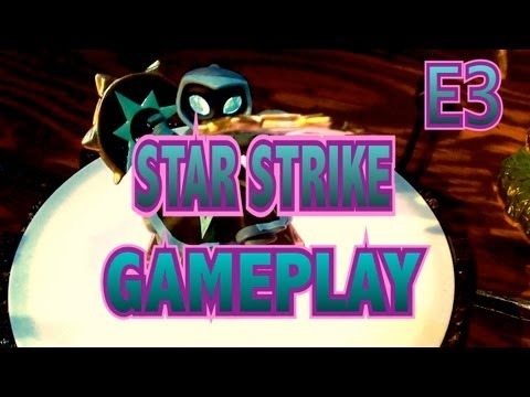 Skylanders Swap Force - E3 - Star Strike (Lightcore) Gameplay