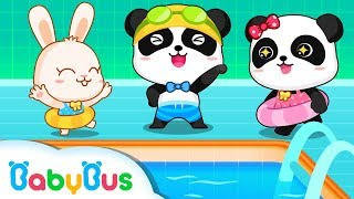 Swimming Song | Play Safe Song | Kids Safety Tips | Nursery Rhymes | Baby Songs | BabyBus