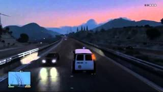 GTA 5 INSANE POLICE CHASE LEAKED GAMEPLAY HD