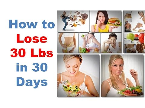 How to lose 30 pounds in 30 days. How to lose weight in a month. lose 30 lbs fast. drop 60 lbs quick