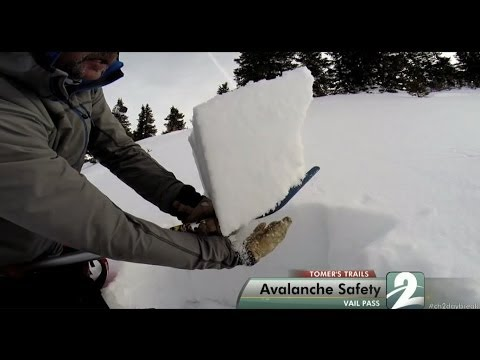 Tomer's Trails - How to Avoid an Avalanche - Back-country Skiing Vail Pass with an avalanche safety instructor, and how to spot areas to avoid.