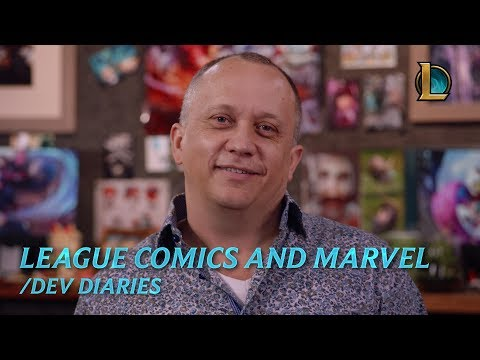 League Comics and Marvel | /dev diary – League of Legends