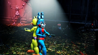 [FNAF SFM] ZOMBIES ATTACK CHICA AND BONNIE | BEST FUNNY AND CUTE FNAF ANIMATIONS COMPILATION