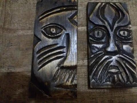 Деревянные поделки своими руками Резьба по дереву Wood carving