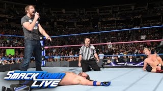 James Ellsworth vs. AJ Styles - WWE World Championship Match: SmackDown LIVE, Oct. 18, 2016