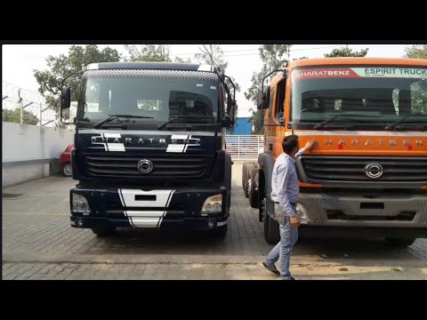Bharat benz(Mercedes benz) 3123 R full view truck