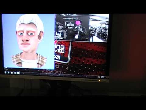 AMD show off some motion capture using a webcam at GDC 2013