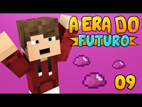 A ERA DO FUTURO #09: UU-Matter e Energia Eólica! - Minecraft