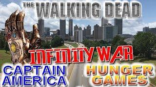 Atlanta Filming Locations - Walking Dead, Avengers, Spider-Man, Captain America, Hunger Games