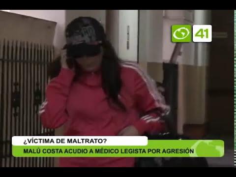 Malú Costa acudió a médico legista por agresión de su pareja - Trujillo