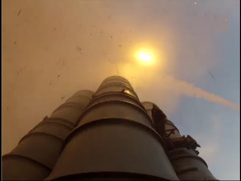 The Amazing S-300 In Live Fire Action