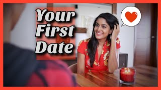When You Go Out On Your First Date | Rickshawali