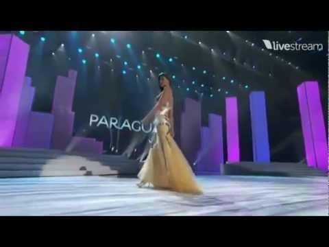 Miss Universe 2011 Preliminary - PARAGUAY (Alba Riquelme)