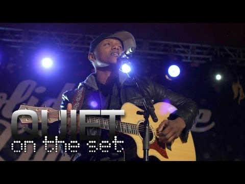"""The Voice"" Champ Javier Colon Makes His Debut - QUIET ON THE SET"