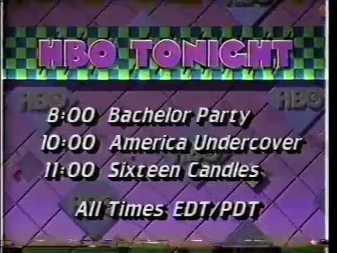 HBO Tonight: Bachelor Party (June 20th, 1985)
